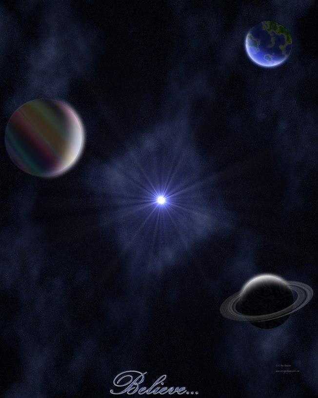 Universe... Believe